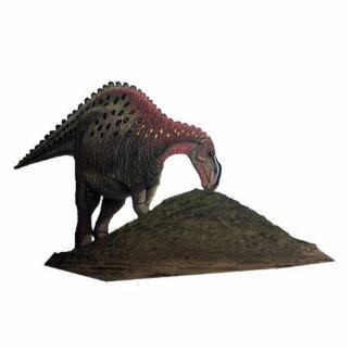 Dinosaurier-Foto-Skulptur Kritosaurus Greg Paul Freistehende Fotoskulptur