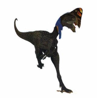 Dinosaurier-Foto-Skulptur Oviraptor Gregory Paul Freistehende Fotoskulptur