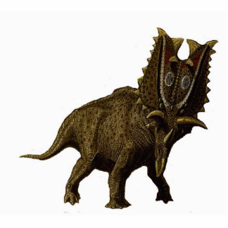 Dinosaurier-Foto-Skulptur Pentaceratops 2 Greg Freistehende Fotoskulptur