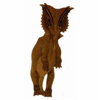 Dinosaurier-Foto-SkulpturChasmosaurus Gregory Paul Freistehende Fotoskulptur