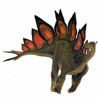 Dinosaurier-Foto-SkulpturStegosaurus Gregory Paul Freistehende Fotoskulptur