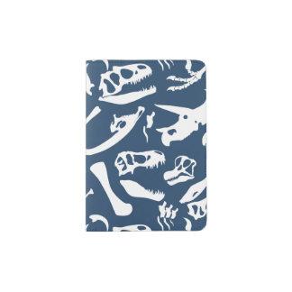 Dinosaurier-Knochen (blau) Passhülle