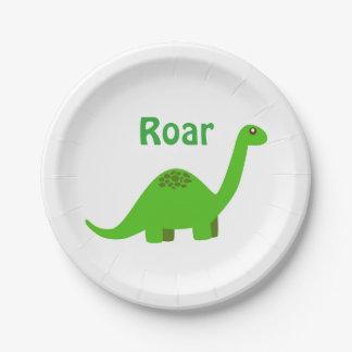 Dinosaurier-Party-Papierplatte Pappteller