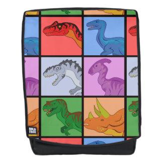 Dinosaurier-Quadrate Rucksack