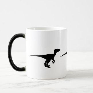Dinosaurier-Raubvogel, Dino-Entwurf Verwandlungstasse