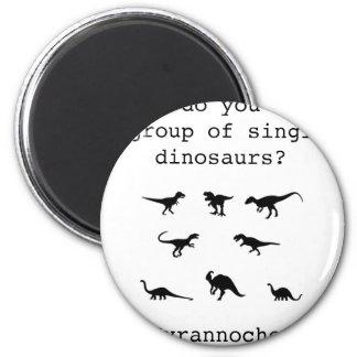 Dinosaurier Runder Magnet 5,1 Cm