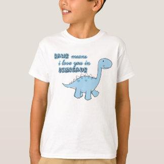 Dinosaurier scherzt T - Shirt