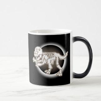 Dinosaurier-Skelett-Tasse