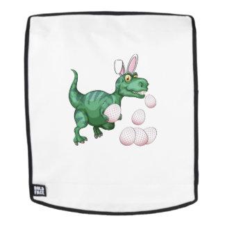 Dinosaurier T-Rex Häschen-lustiges Osterei Rucksack