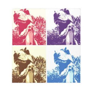 Dinosaurier T-Rex Notizblock