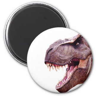 Dinosaurier T-Rex Runder Magnet 5,7 Cm