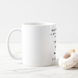Dinosaurier-Tasse Kaffeetasse