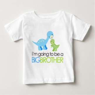 Dinosaurier werde ich ein großer Bruder sein T Shirts