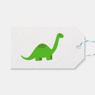 Dinosauriergeschenkumbauten Geschenkanhänger
