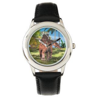 DinosaurierKentrosaurus Uhr