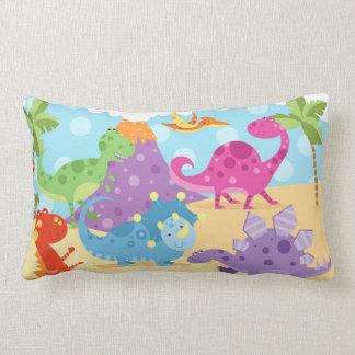 Dinosaurierlumbar-Kissen Lendenkissen