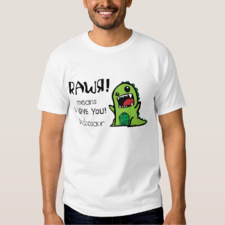 Dinosauriert-shirt Hemden