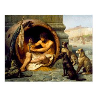Diogenes durch Jean-Leon Gerome Postkarten