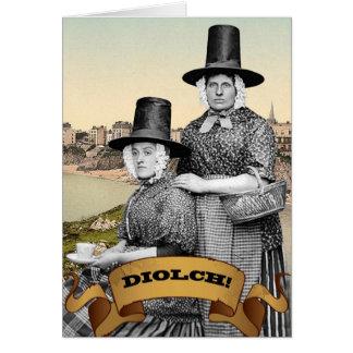 Diolch Grußkarte