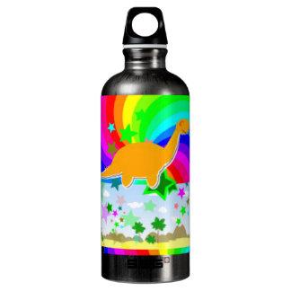 Diplodocus-Pixel-Dinosaurier Wasserflasche