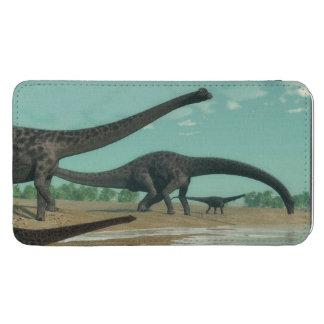 Diplodocusdinosaurierherde - 3D übertragen Galaxy S5 Tasche