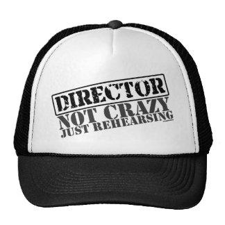 Direktor: Nicht verrücktes gerade proben Mütze