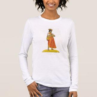 Dirgha Ehefrau von Nirriti, graviert von C. de Langarm T-Shirt