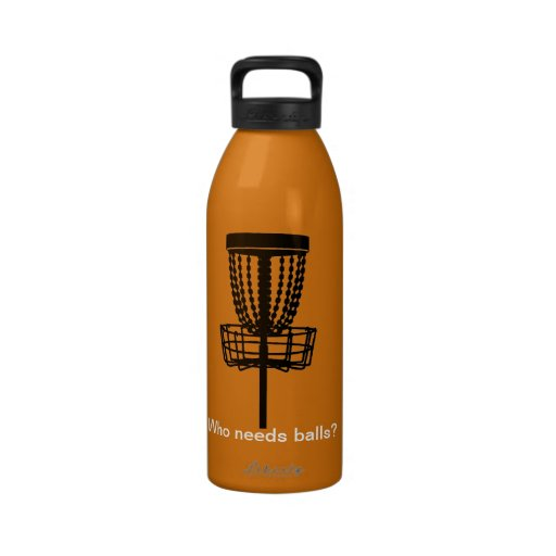 Disc-Golf, Frolf Wasserflaschen