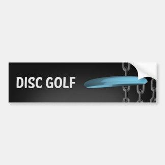 Disc-Golf-Ketten Autoaufkleber