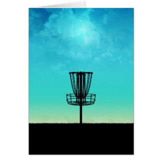 Disc-Golf-Korb Karte