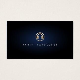Disc-Jockey-elegante Visitenkarte