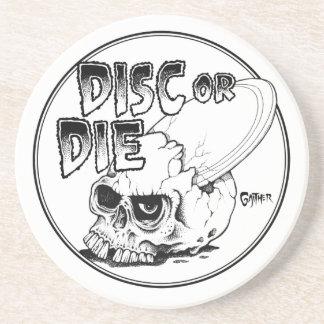 Disc oder die sandstein untersetzer