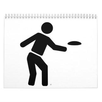 Discgolfsport Wandkalender