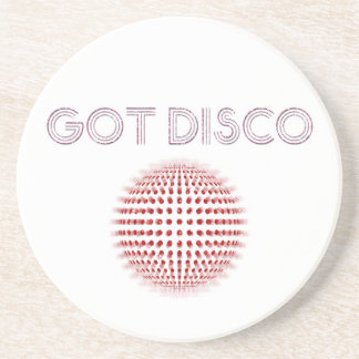 Disco-Ball-Glitzern! Getränkeuntersetzer
