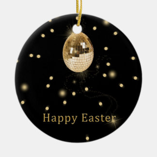 Disco-Ball-Osterei - Verzierung Rundes Keramik Ornament