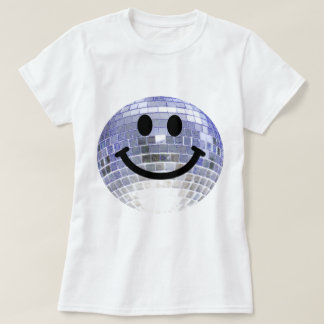 Disco-Ball-smiley T-Shirt