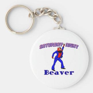 Disco-Biber Schlüsselanhänger