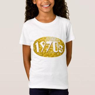 """Disco deckt """"angepasste Gold"""" """"Siebzigerjahre"""" T-Shirt"""