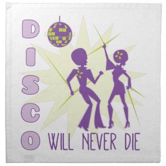 Disco die nie serviette