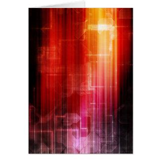 Disco-elektronische Musik Techno Karte