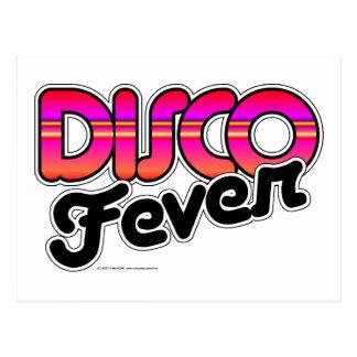 Disco-Fieber Postkarte