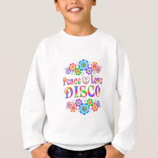 Disco-FriedensLiebe Sweatshirt