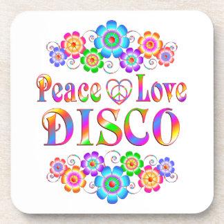 Disco-FriedensLiebe Untersetzer
