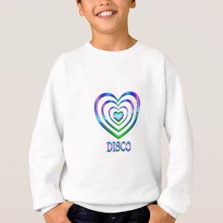 Disco-Herzen Sweatshirt