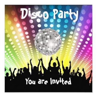 Disco-Party Einladung irgendeine Feier