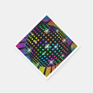 Disco-Party-Serviette Servietten
