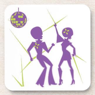 Disco-Tanz Untersetzer