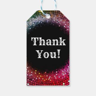 Discoball danken Ihnen Geschenkumbau Geschenkanhänger