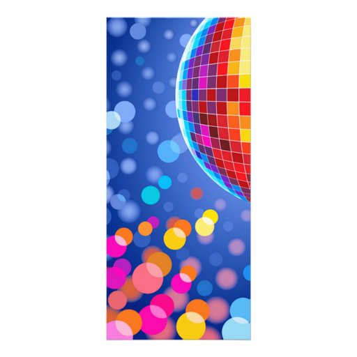 Discokugel Individuelle Werbe Karte