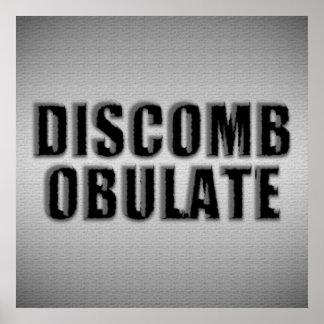 Discombobulate. Poster